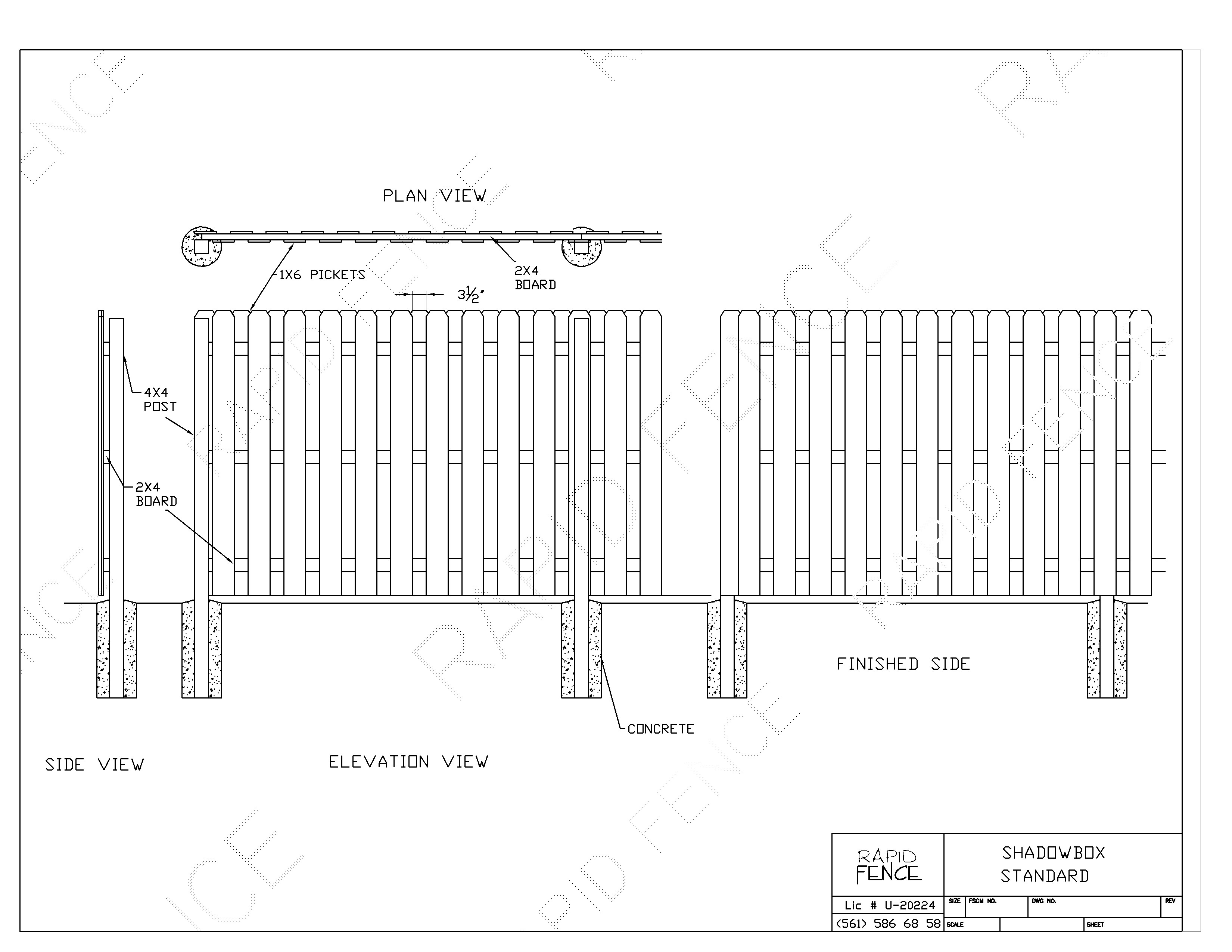 Image Result For Shadowbox Fence